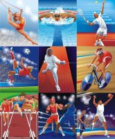 Olympic sports by GruberJan