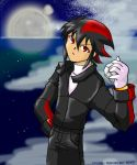 Shadow... as a human? by kyogre-bluemoon