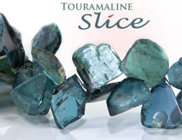 Tourmaline - Slice by BeadsofCambay