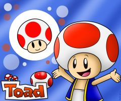 Yeah Toad!! Here I go!! by SuperLakitu