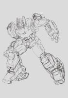 Transformers Sketch WFC style 02 by bokuman