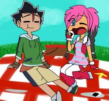 Request TheNomzmonster: Picnic Day by NiFaux