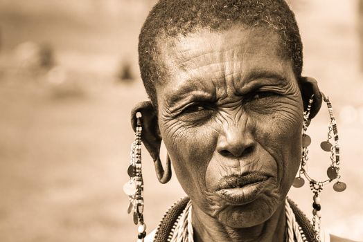 Maasai Woman by JustinBowen