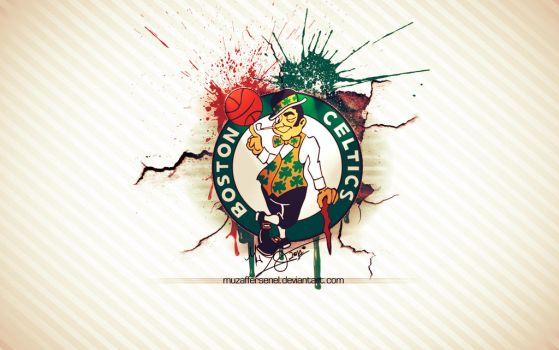 Boston Celtics Wallpaper by MuzafferSenel