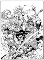 Cover Fantasy Fighters by Dogsupreme