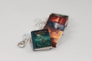 Percy Jackson Miniature Book Bracelet by Saint-Rise
