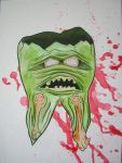 The Undead tooth by Mikepratt