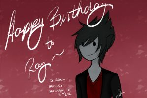 Happy Birthday Ray! by 66an