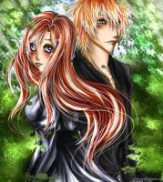 IchiHime: You Make Me Whole by Bleach-Lovers