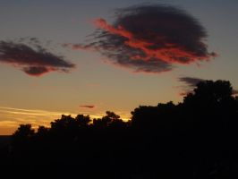 Sunset and clouds... by pR3cel