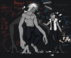Norman and Raserei REF 2014 by MutantParasiteX
