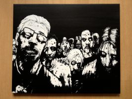 The Walking Dead by DikkensArt