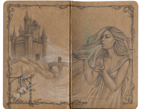 The Creation of a Myth Journal by Achen089