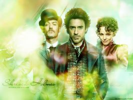 Sherlock Holmes by angie-sg