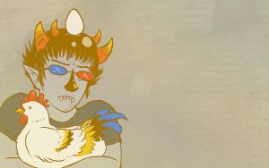 Wallpaper - Sollux Captor by jessiejazz