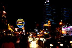 Las Vegas Lights by ObeseRhino