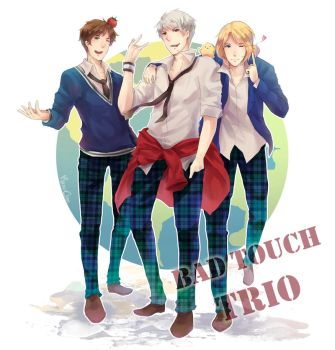 APH - Bad Touch Trio by Mano-chan
