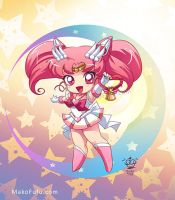 .: Super Sailor Chibi Moon :. by Mako-Fufu