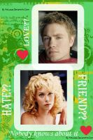 Lucas and Peyton by ArtLucas by OneTreeHillPL