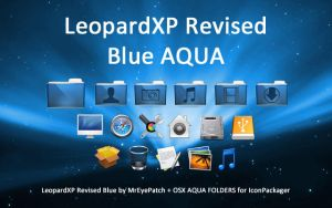 LeopardXP Revised Blue AQUA by FRANKO-12