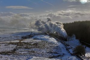 Storming Up The Hill by CJSutcliffe