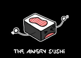 Angry Sushi by Cei-08