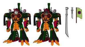 TFA Bludgeon Reference by AleximusPrime