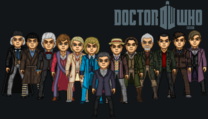 The 13 Doctors Poster by Valeyard-Parallax