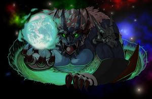 Cosmic Force Dragon God by KingofAnime-KoA
