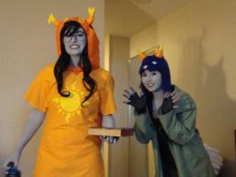 Vriska and Nepeta Foolin by Pretty-Punisher