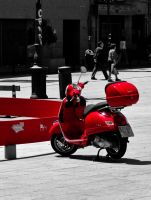 Selective Red by esbenlp