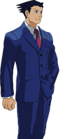 Phoenix Wright by mathieutrudelle