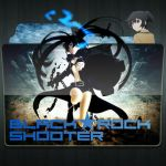 Black Rock Shooter by Solutionist