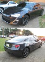 black 13' Scion FR-S by Mister-Lou
