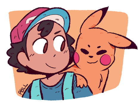 Ash And Chu by ryllcat21