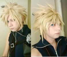 Cloud Final Fantasy Advent Children Cosplay by KIRA009