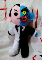 Two-Face Plushie by magefeathers