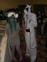 Nell and Ulquiorra Cosplay by wolfforce58