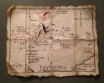 Thror's Map From The Hobbit by timshinn73