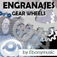 Industrial gear wheels by Ebonymusic