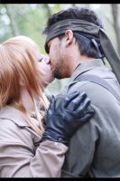 Snake x EVA Cosplay like a wild beast by Moin2D