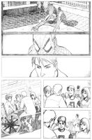 Ultimate Spidey Page 1 by jamesq