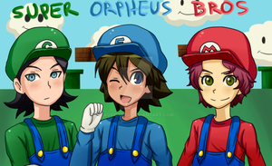 Super Orpheus Bros by adricarra