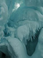 Ice Cave in Antarctica by PhilipBohlmann