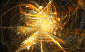 Fractal: Fire Tunnel by Saphiroko