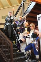 Dissidia: Villains and a Hero by Midnight-Dance-Angel