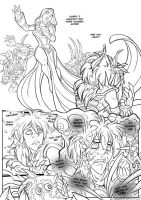Drusera - Lineart Pg03 by Quarter-Virus