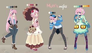 Mutt's outfits I by Memainc