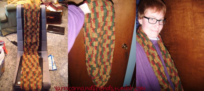 Autumn Scarf by Ambrosial-Wolf