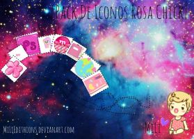 [* Pack De Iconos Rosa Chick *] by MiLiEdithions